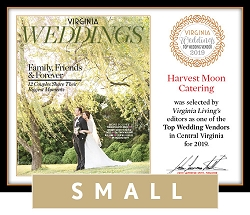 Official Top Wedding Vendors 2019 Plaque, S (9.75