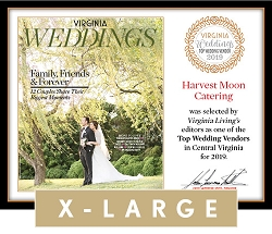 Official Top Wedding Vendors 2019 Plaque, XL (26