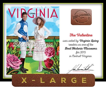 Official Best of Virginia 2015 Plaque, XL (26