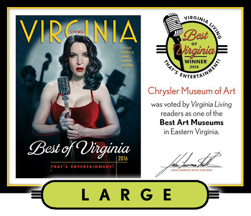 Official Best of Virginia 2016 Winner's Plaque, L (19.75