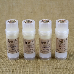 Beeswax Lotion Sticks from Hott Apiary (4 varieties)