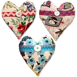 Complete Set of Sweetheart Sachets from Visual Treats