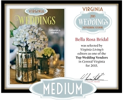 Official Top Wedding Vendors 2015 Plaque, M (13