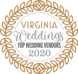 Top Wedding Vendors 2020 Winner's Window Decal (3.5