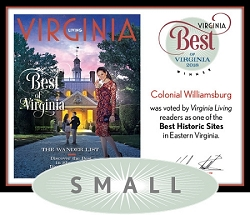 Official Best of Virginia 2018 Winner's Plaque, S (9.75