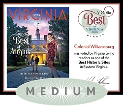 Official Best of Virginia 2018 Winner's Plaque, M (13