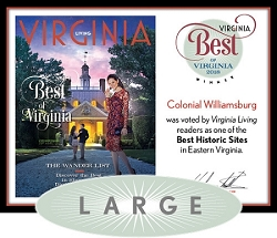 Official Best of Virginia 2018 Winner's Plaque, L (19.75