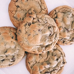 Traditional Chocolate Chip Cookies from Celli's Chocolate Chips