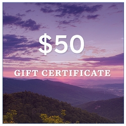 Virginia Living Store $50 Gift Certificate