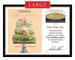 Official Top Wedding Vendors 2013 Plaque, L (19.75