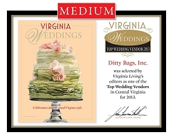 Official Top Wedding Vendors 2013 Plaque, M (13