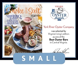 Official Best Oyster Awards 2017 Winner's Plaque, S (9.75
