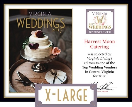 Official Top Wedding Vendors 2017 Plaque, XL (26