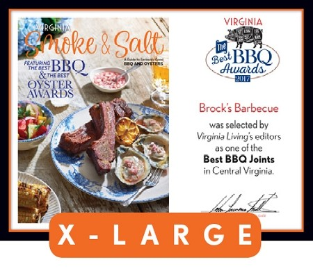 Official Best BBQ Awards 2017 Plaque, XL (26