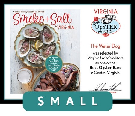 Official Best Oyster Awards 2018 Winner's Plaque, S (9.75