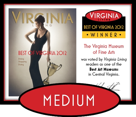 Official Best of Virginia 2012 Winner's Plaque, M (13