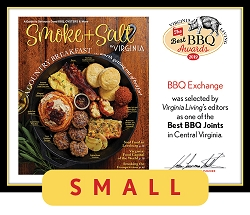 Official Best BBQ Awards 2019 Winner's Plaque, S (9.75