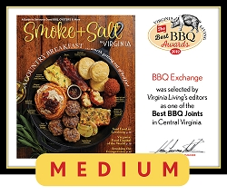 Official Best BBQ Awards 2019 Winner's Plaque, M (13