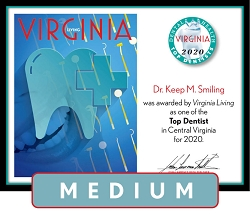 Official Top Dentists 2020 Winner's Plaque, M (13