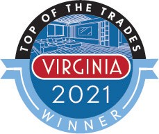 Official Top of the Trades 2021 Winner's Window Decal (3.5