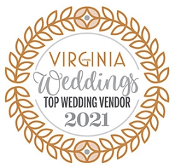 Top Wedding Vendors 2021 Winner's Window Decal (3.5