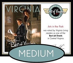 Official Best of Virginia 2014 Winner's Plaque, M (13
