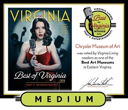 Official Best of Virginia 2016 Winner's Plaque, M (13