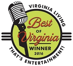 Best of Virginia 2016 Winner's Window Decal (4