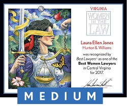 Official Best Women Lawyers 2017 Winner's Plaque, M (13