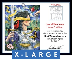 Official Best Women Lawyers 2017 Plaque, XL (26