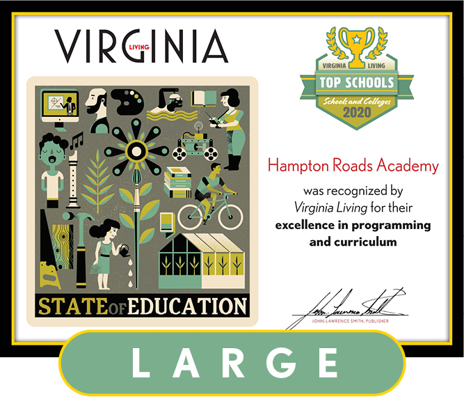 Official State of Education 2020 Winner's Plaque, L (19.75