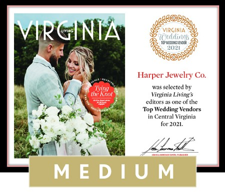 Official Top Wedding Vendors 2021 Plaque, M (13